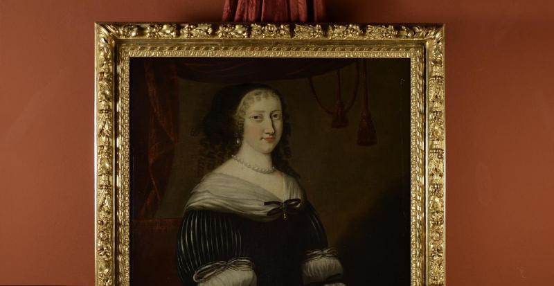 Portrait d'Une Femme,  Jacobs Van Den Tempel  ( 1622 -1672)-photo-3
