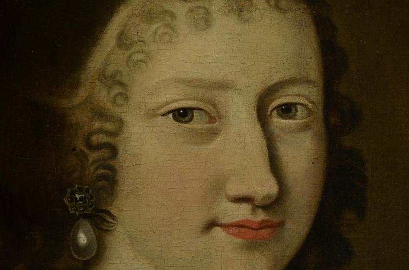 Portrait d'Une Femme,  Jacobs Van Den Tempel  ( 1622 -1672)-photo-4