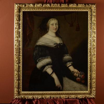 Portrait d'Une Femme,  Jacobs Van Den Tempel  ( 1622 -1672)