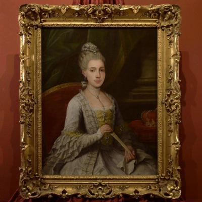 Portrait Of Maria Luisa Of Bourbon, Anton Raphael Mengs (1728 - 1779)