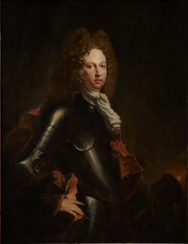 Début Du XVIIIe Siècle, Portrait d'Un Chevalier En Armure, François Jouvenet-photo-3
