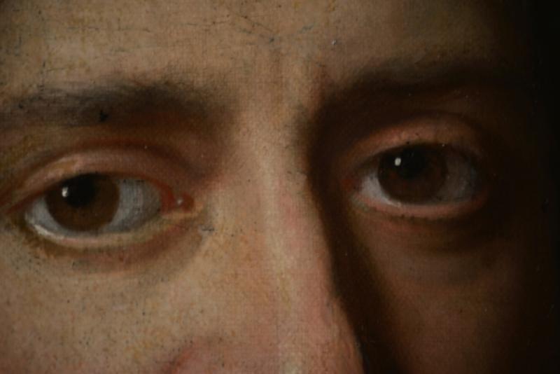 Tableau Signé Par Jan De Baen, Portrait d'Un Gentilhomme -photo-4