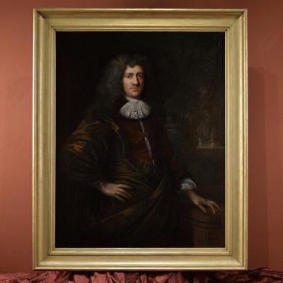 XVII Th Century Portrait Of A Dutch Nobleman, Signed And Dated