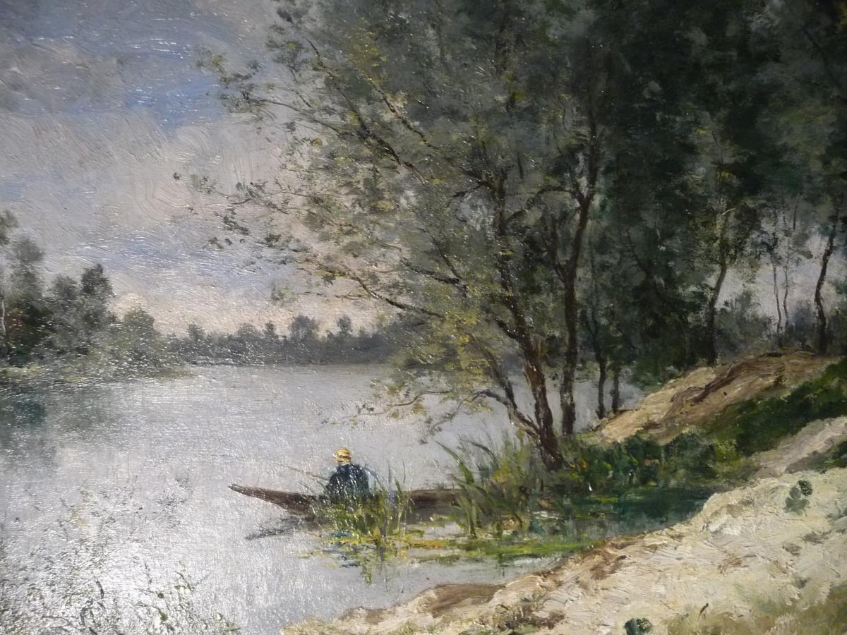 """Paul Peraire   """" Les Sables Blanc à Saint - Ouen """""""