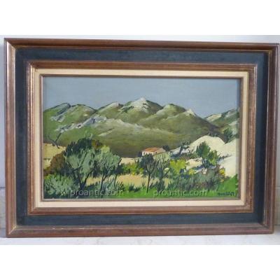 Humblot: Landscape Alpilles