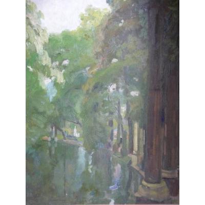 Elie Anatole Pavil: The Parc Monceau