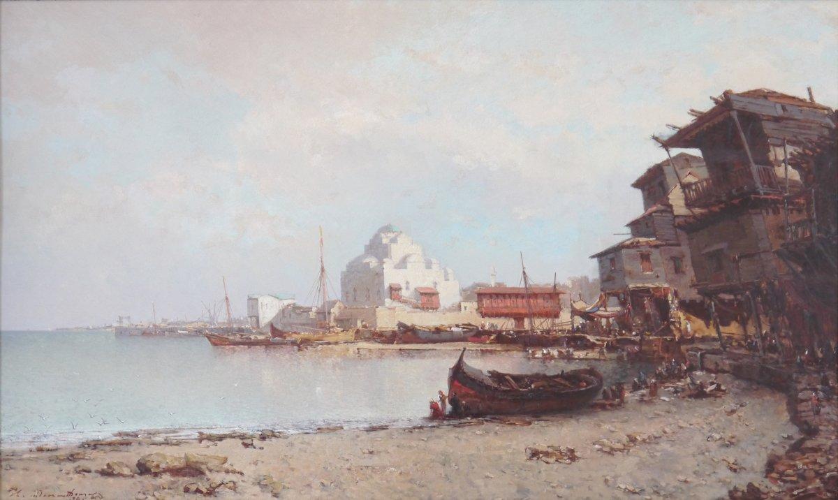 Henri Durand Brager (france 1814 - Cairo 1879) - Bosphorus Strait