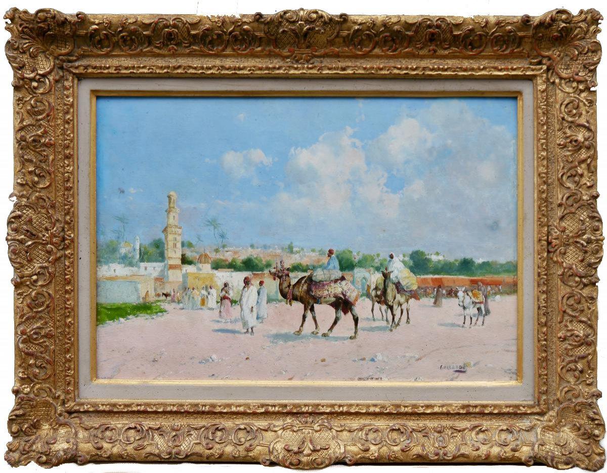 Gustavo Gallardo Ruiz (spain 1891 - 1971) - Orientialist Painting