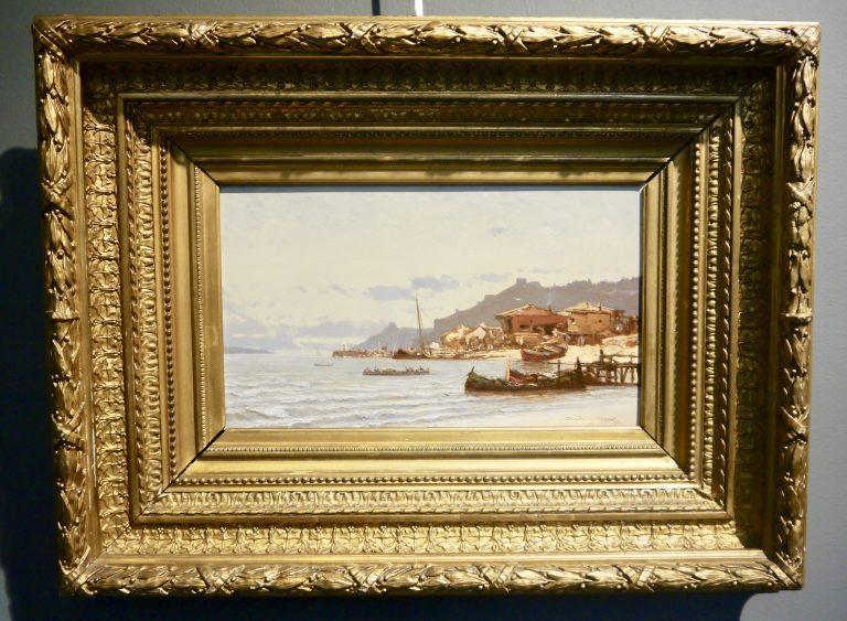 Henri Durand Brager (france 1814 - Cairo 1879) - Bosphorus Strait-photo-2