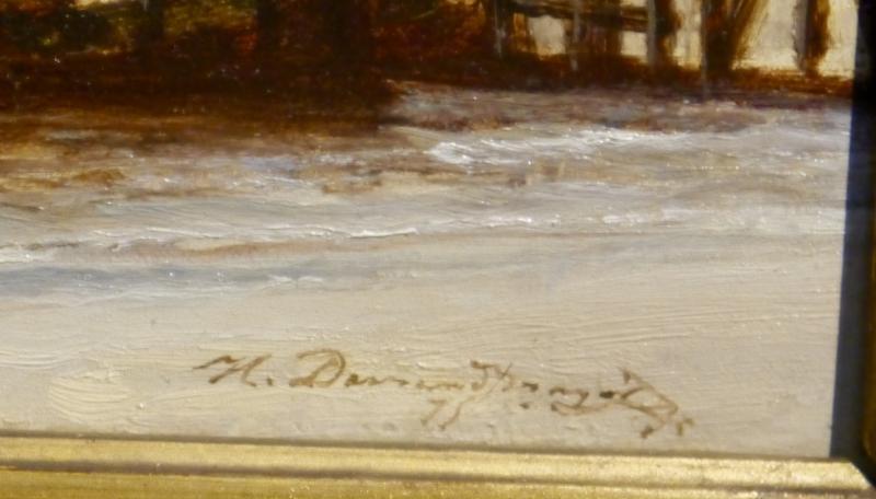 Henri Durand Brager (france 1814 - Cairo 1879) - Bosphorus Strait-photo-3