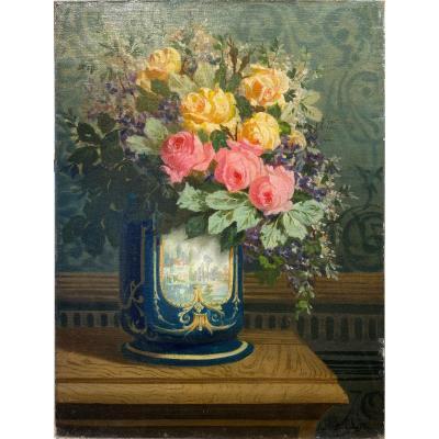 Louis De Koninck (molenbeek-st-jean 1866 - Antwerp 1937) - Still Life