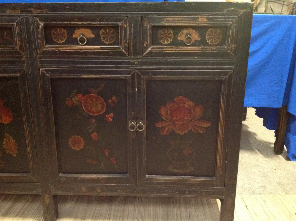 Tr s belle patine pour ce meuble chinois buffets enfilades for Acheter meuble chinois