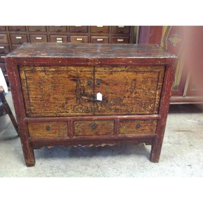 Petit Meuble Chinois Polychrome Buffets Enfilades