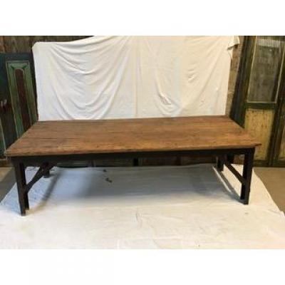 Factory Table In Teak Wood