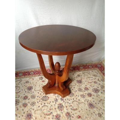 Little Art Deco Quadripode Pedestal