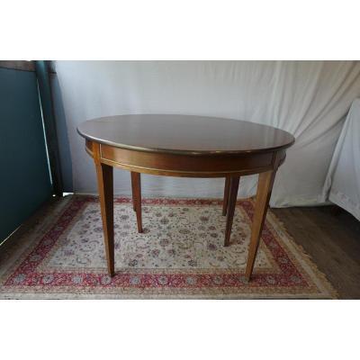 Table De Style Louis XVI En Acajou