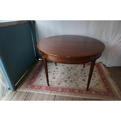 Table Dining Room Style Louis XVI Mahogany