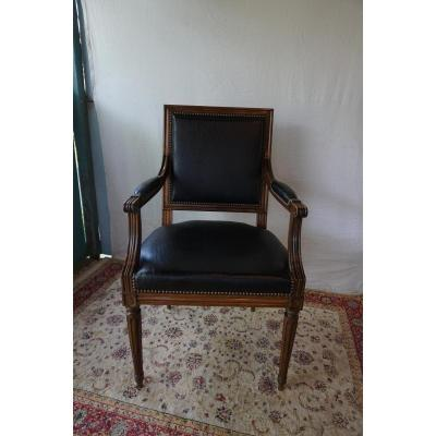 Office Chair Louis XVI Style