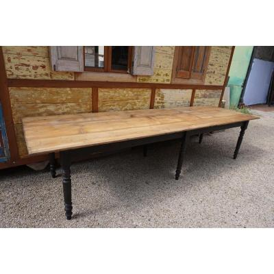 Large Rectangular Table