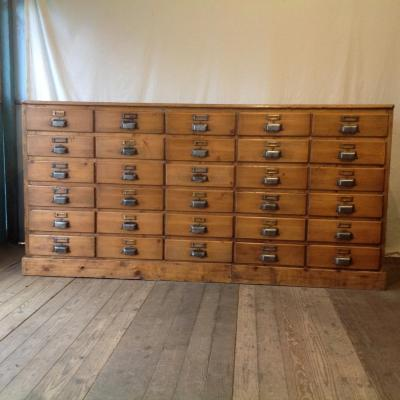 Opening Furniture By 30 Drawers