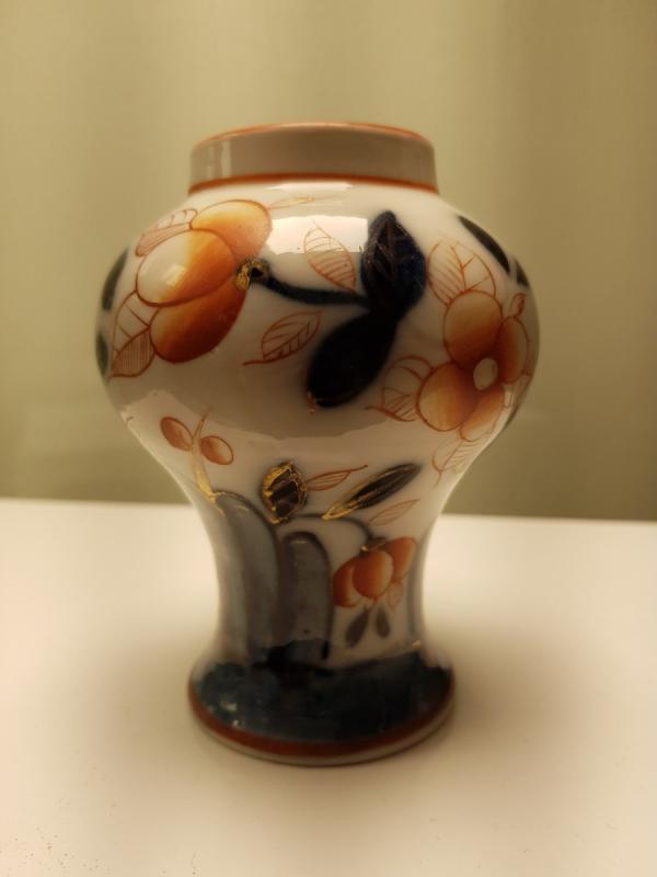 Vase En Porcelaine De Bayeux-photo-2