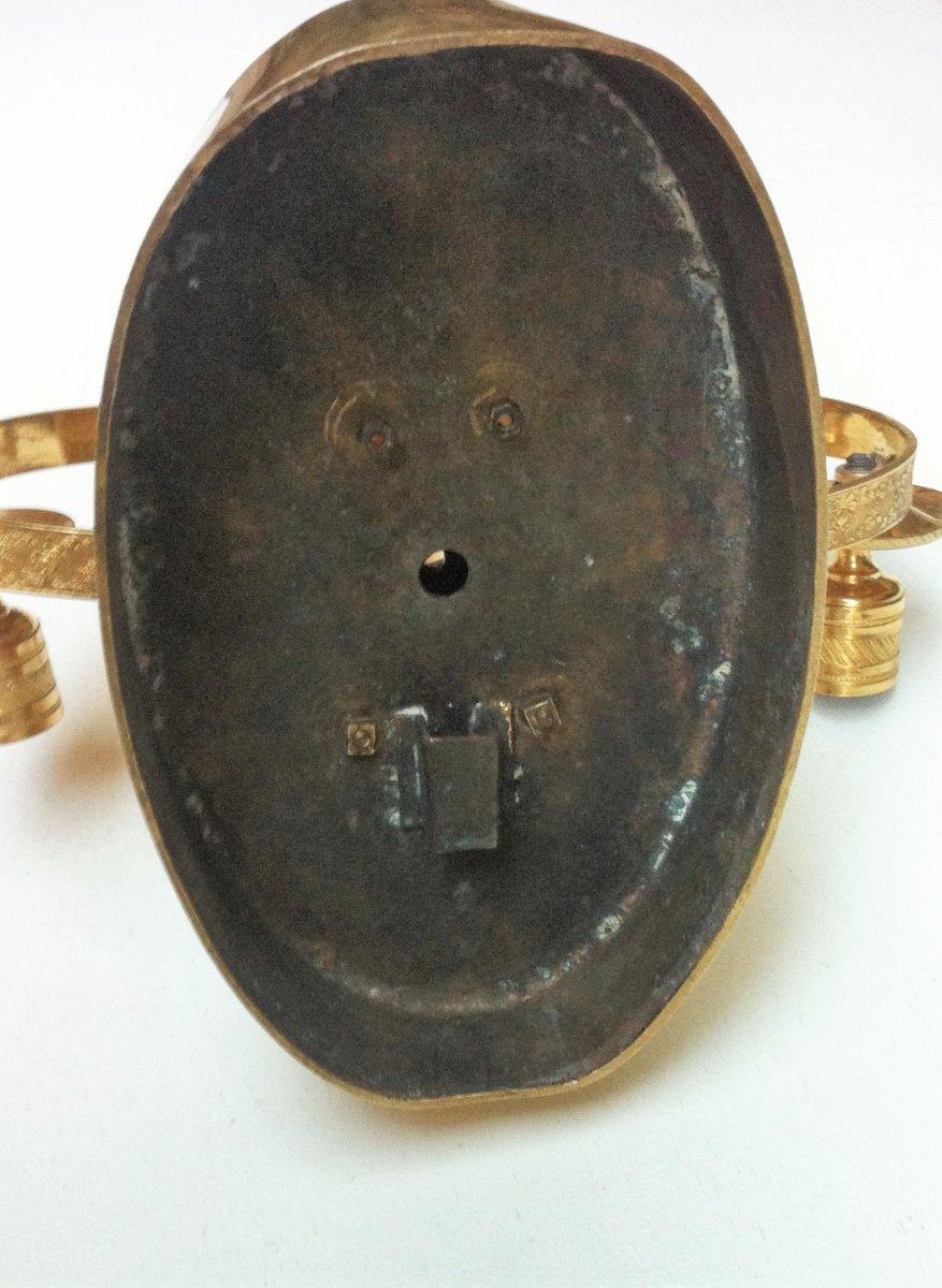 Applique à Mufle De Lion Bronze Doré 19 ème-photo-3
