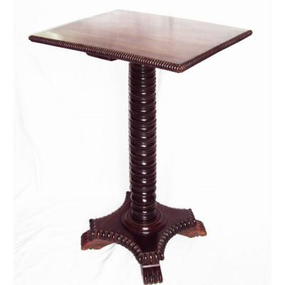 Table d' Appoint En Palissandre bibliothèque bureau d' époque XVIIème