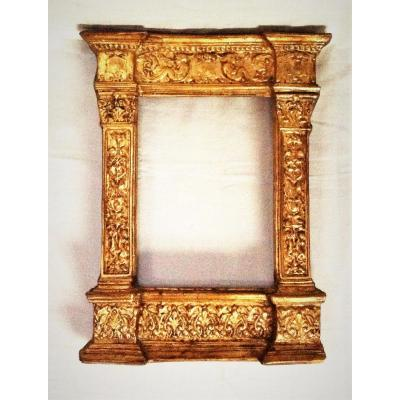 "Gilded Renaissance Style Frame Tells ""tabernacle"" 19th"