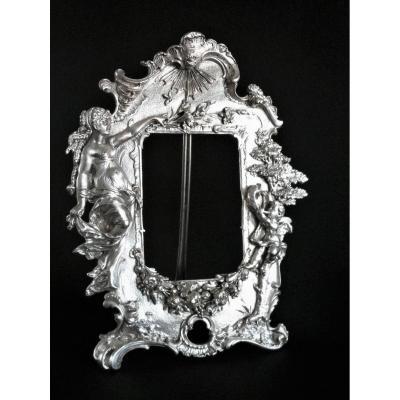 "Silver Metal Frame ""mythology"""