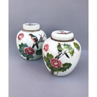 China Large Nineteenth Ginger Pots