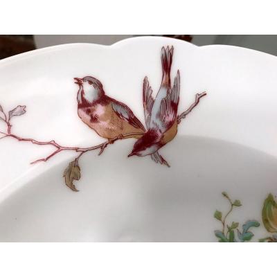 Partie De Service De Table En Porcelaine De Limoges  Haviland