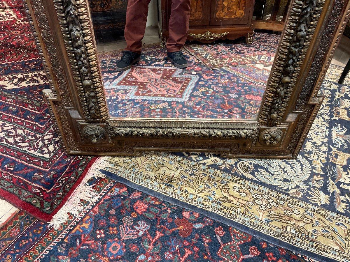 Grand Miroir Aux Angelots 19 Eme -photo-3