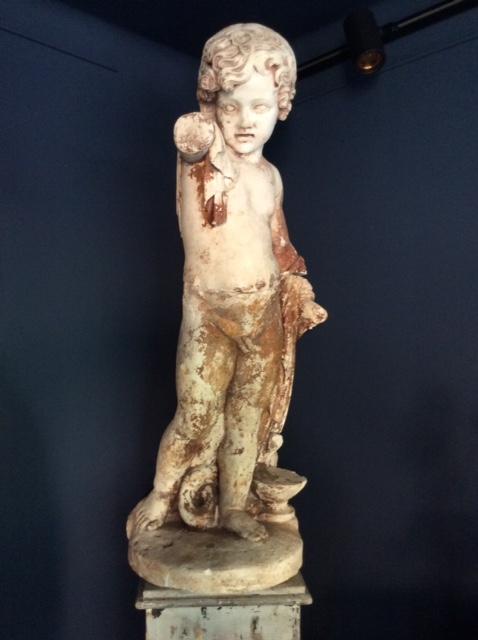 Important Plâtre Représentant Hercule Enfant