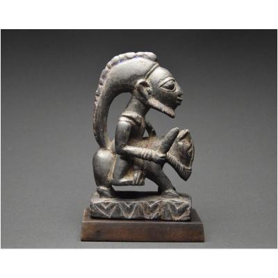 Nigéria, Peuple Yoruba, Première motié du XXème siècle, Ancienne figure équestre en bois