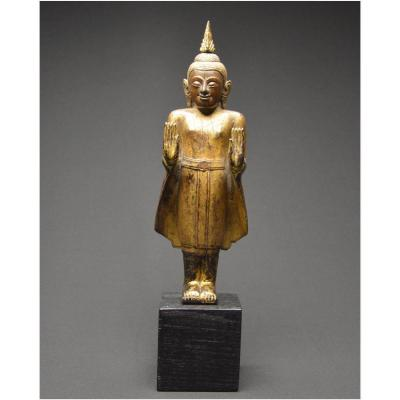 Ancien Royaume du Siam, XVIIIème - XIXème siècle, Bouddha en Abhaya Mudra