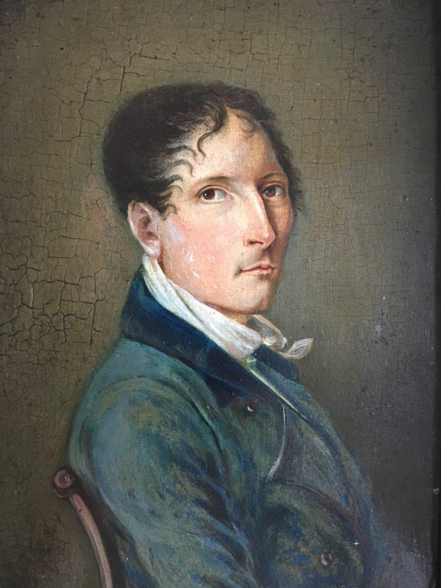 Portrait Of Man XIX Noble Empire