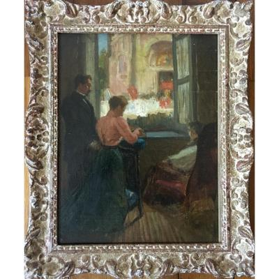 Impressionism Interior Scene