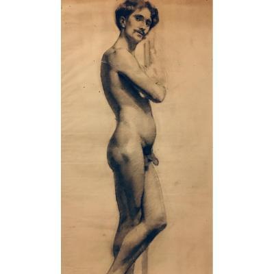 Male Academic Nude Drawing