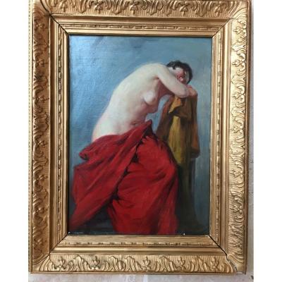 Portrait Naked Woman Joseph Milon
