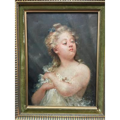 Portrait Young Girl XIX