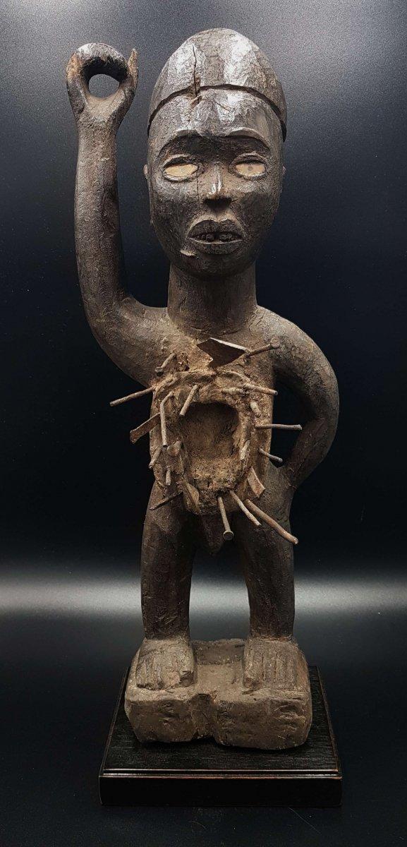 Nkisi Fetish, Kongo, Rdc