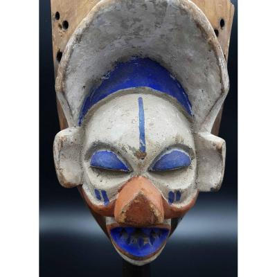 Yaka Mask, Democratic Republic Of Congo