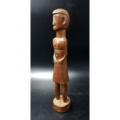 Rungu Female Statuette - D.r.c