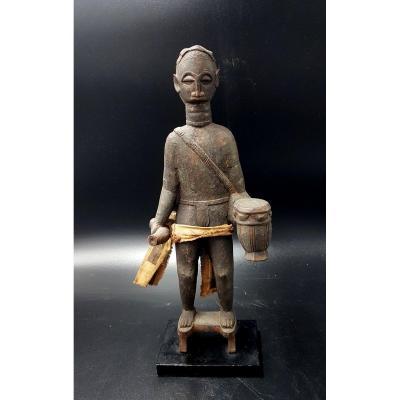 Statue de griot, Akan, Ghana