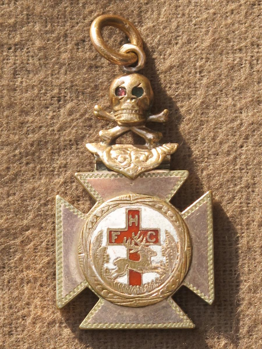 Bijou Insigne Médaille Catholic Order Of Foresters Usa