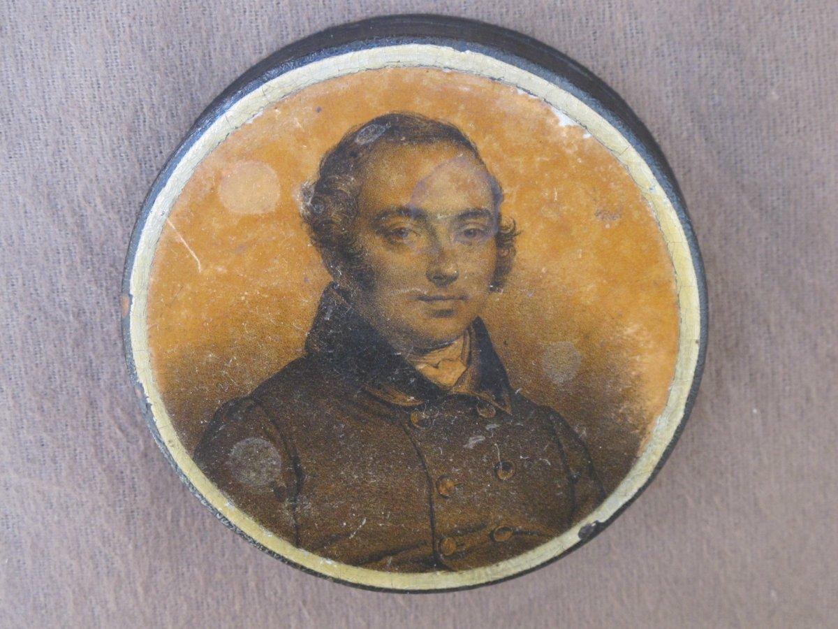 Box Snuff Box Representative Casimir Périer Nineteenth Century