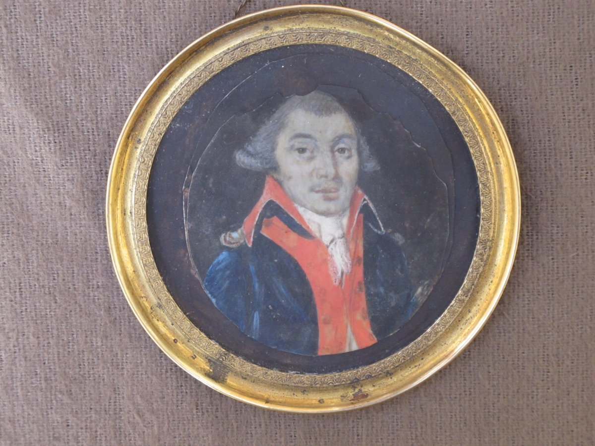Miniature Officier Militaire époque XVIII ème