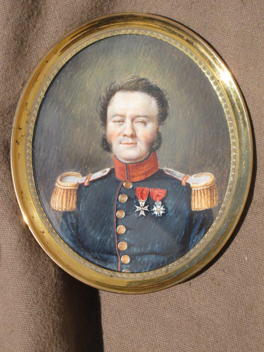 Miniature Lieutenant Colonel 18 è De Ligne Militaire Empire Et Restauration Par Target