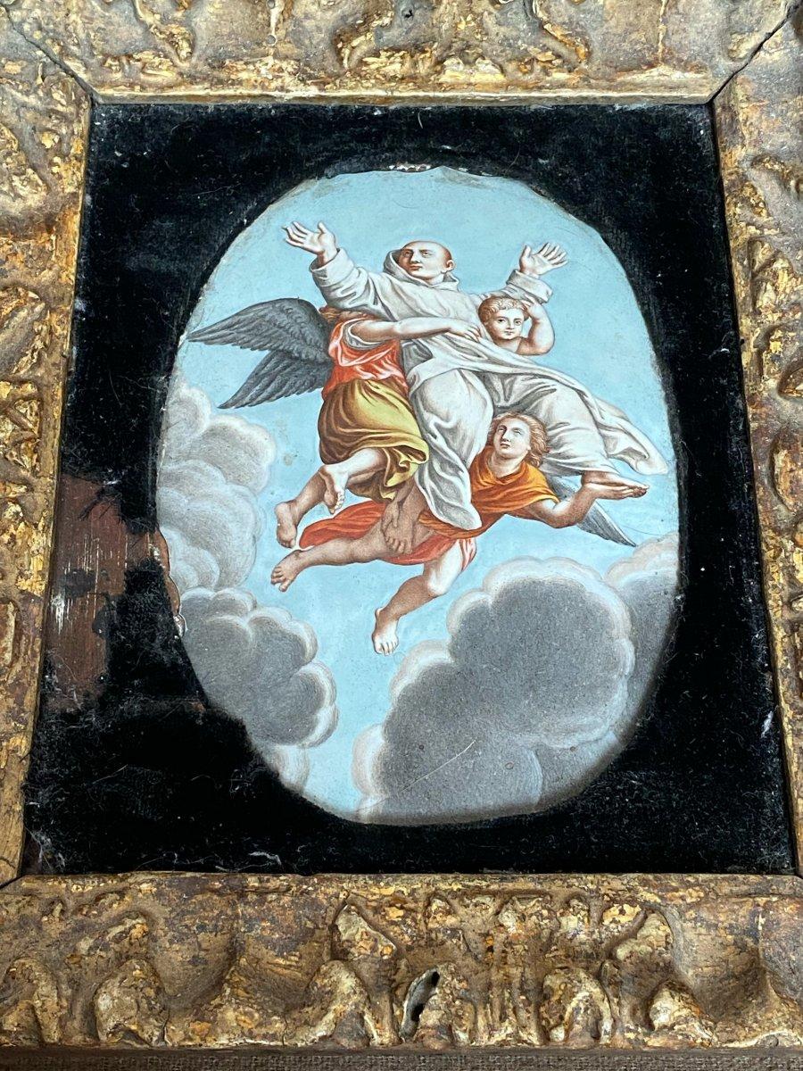 émail De Limoges Par Nicolas Laudin Saint Bruno époque XVII Eme Siècle-photo-4