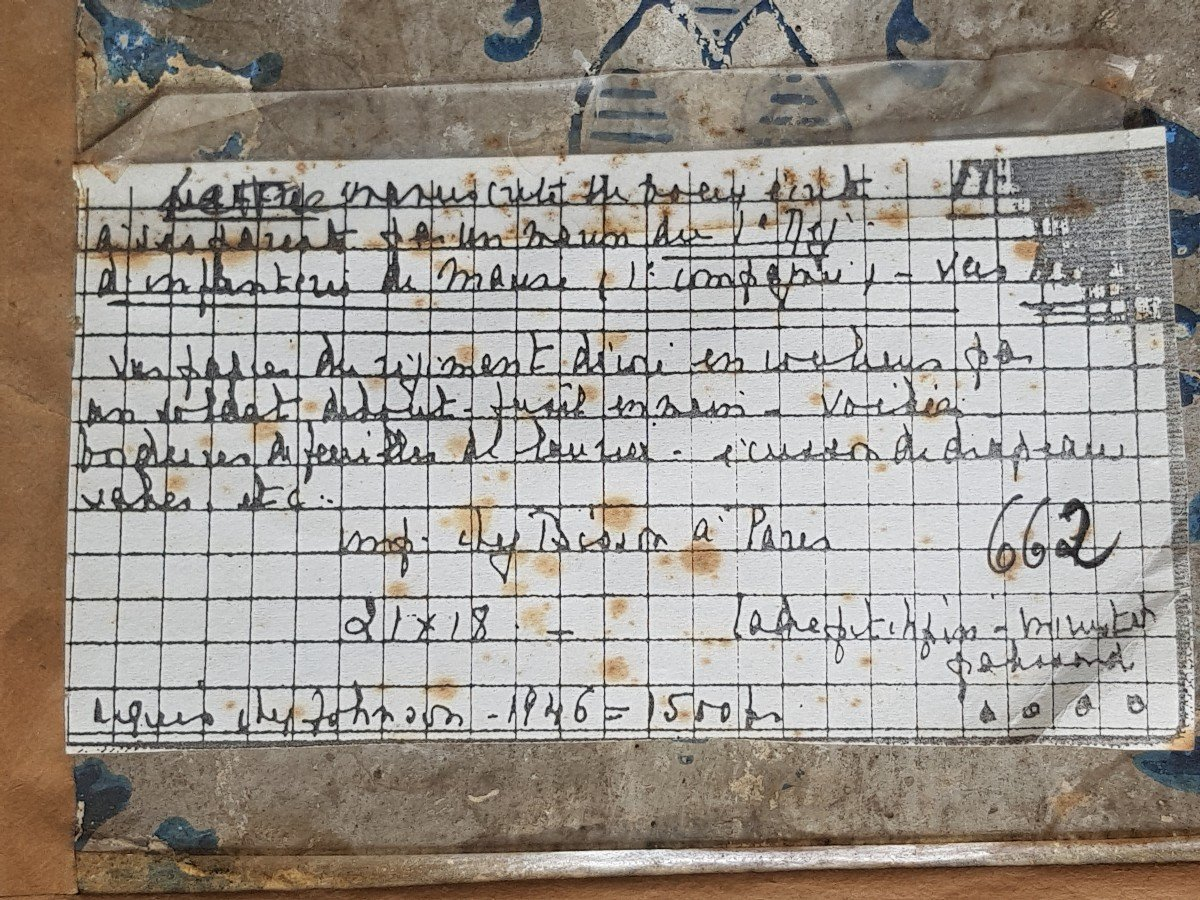 Letter From The First Marine Infantry Regiment Battalion 1 Company Soldier Anchor Ship-photo-3